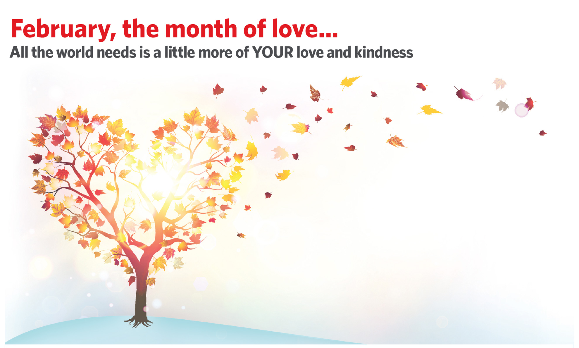 February the month of LOVE