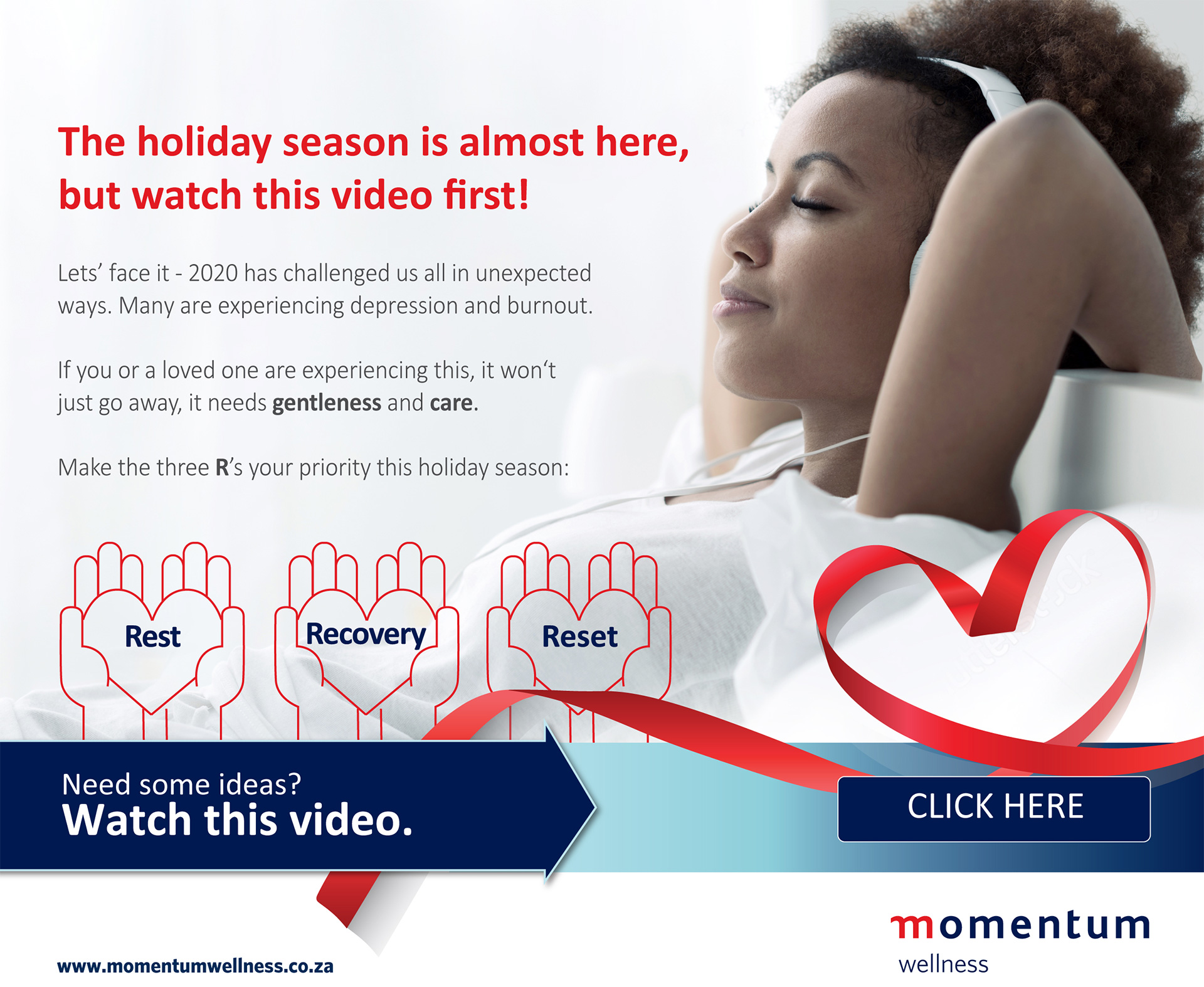 The holiday season is almost here, but watch this video first!